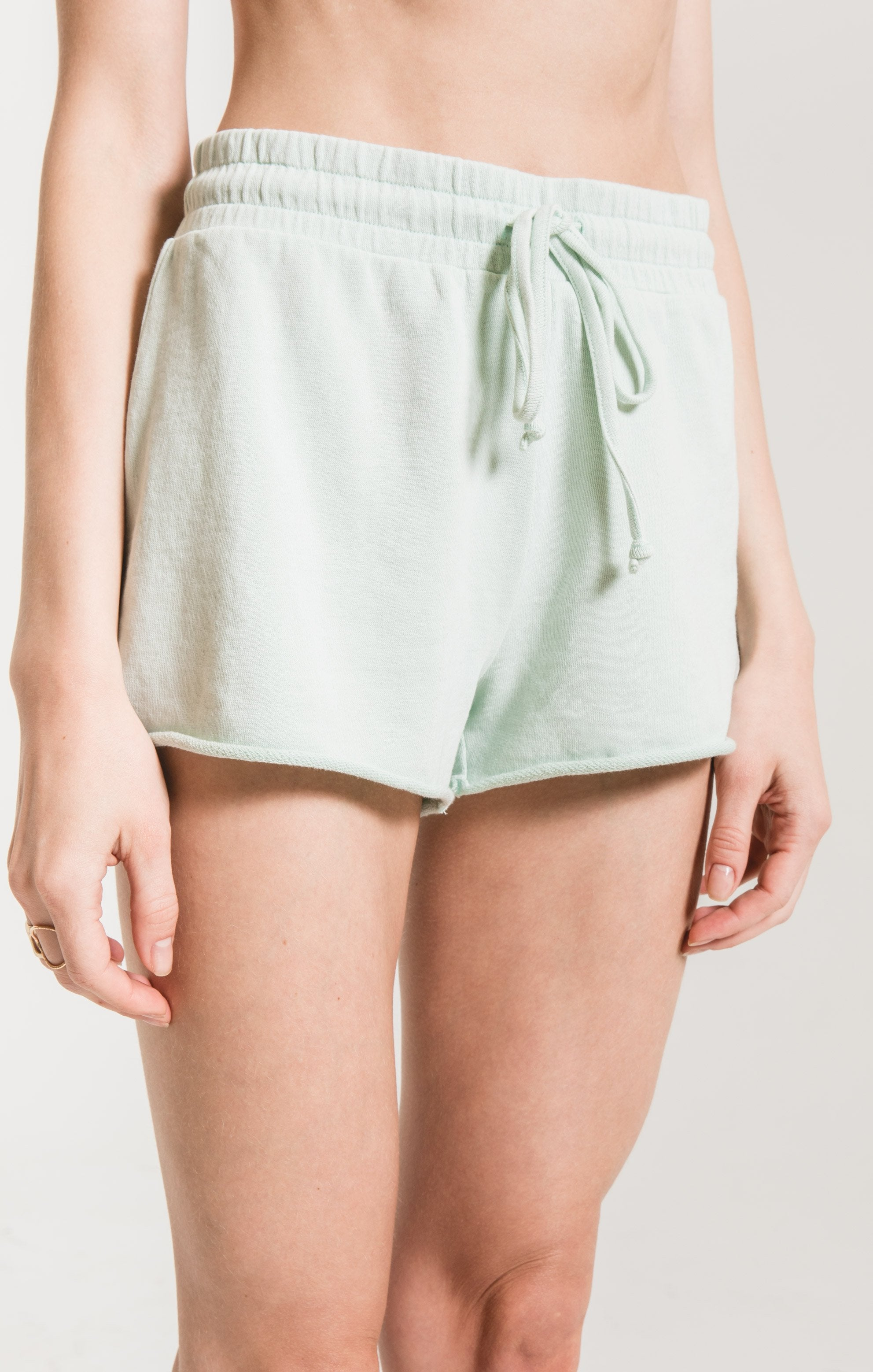 Shorts Cotton French Terry Short Illusion blue