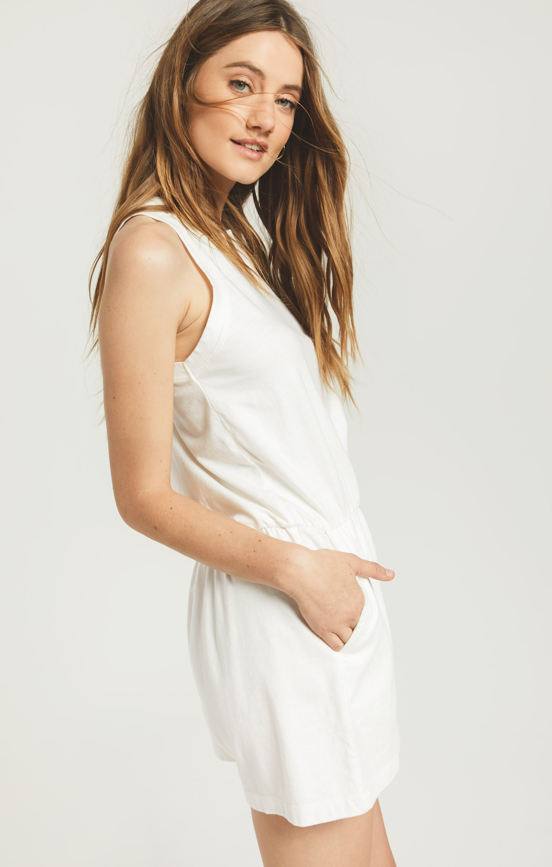 Shorts Adira Cotton Romper Adira Cotton Romper