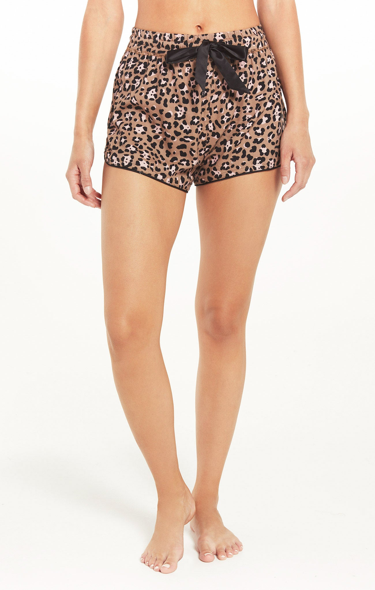 Shorts Sweet Talker Leopard Short Toast