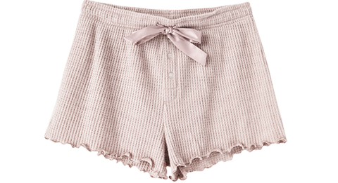 Shorts Frills Thermal Short Outfit Builder Dusty Rose