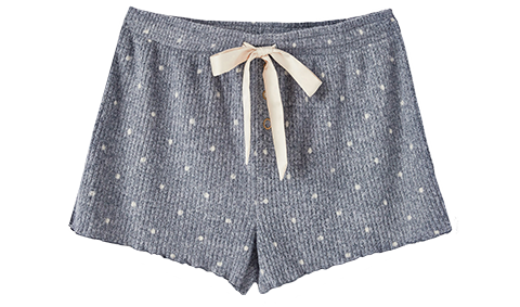 Shorts Frills Dot Short Outfit Builder Steel