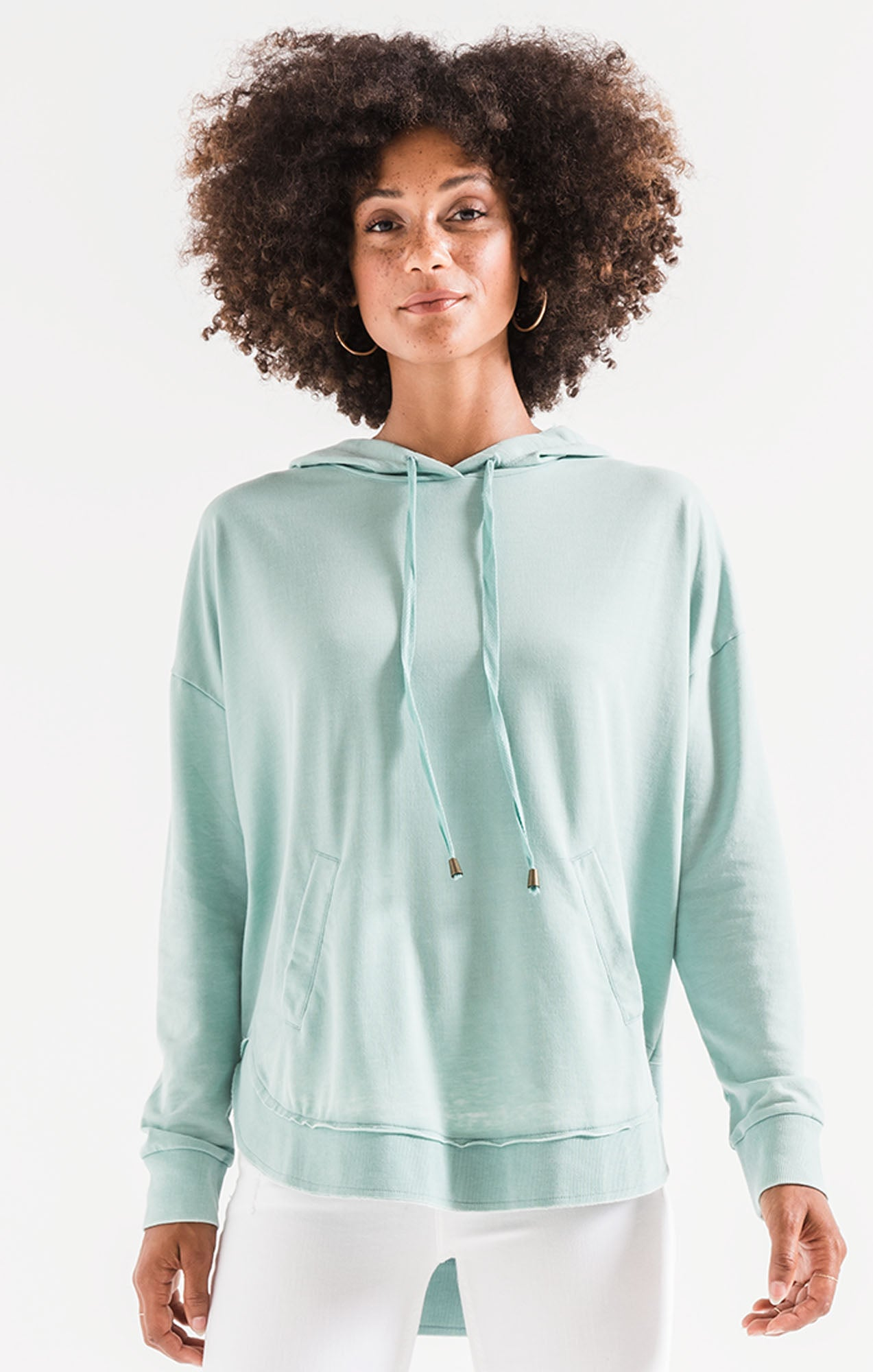 Tops Dakota Pullover Fair Aqua