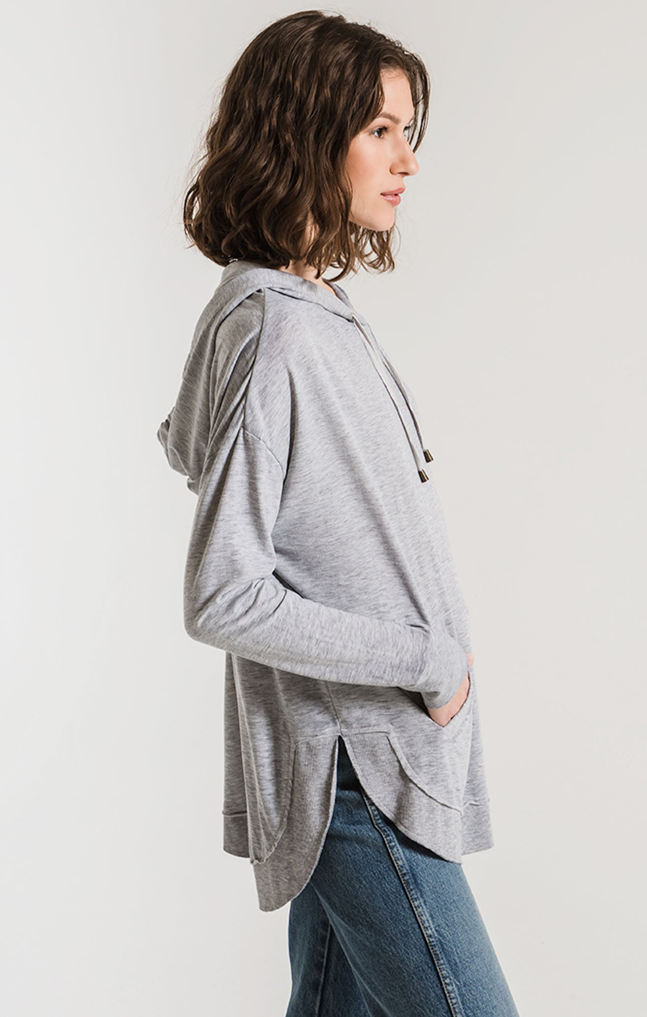 Tops Dakota Pullover Heather Grey