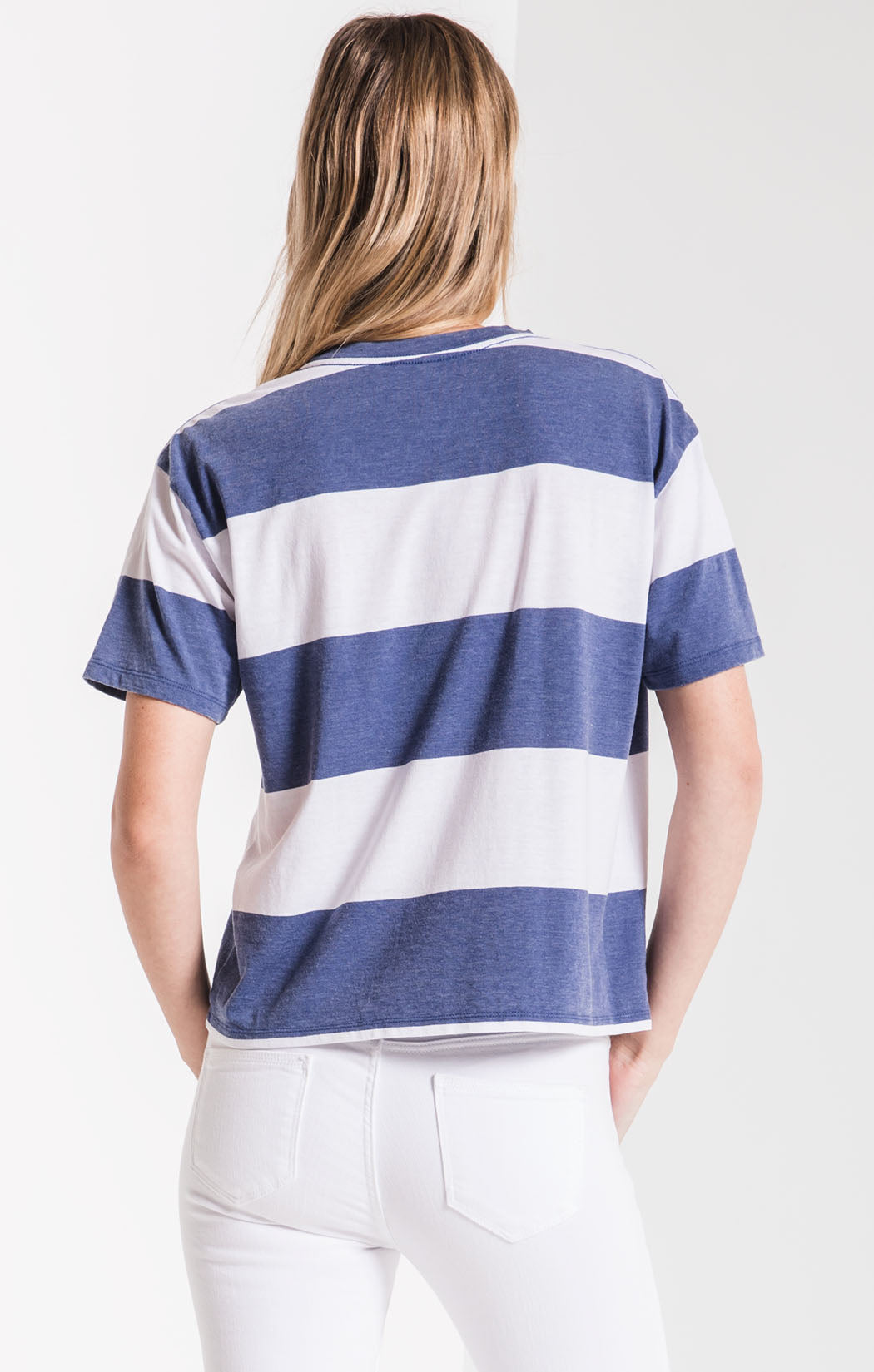 Tops The Venice Crew Tee Coastal Blue