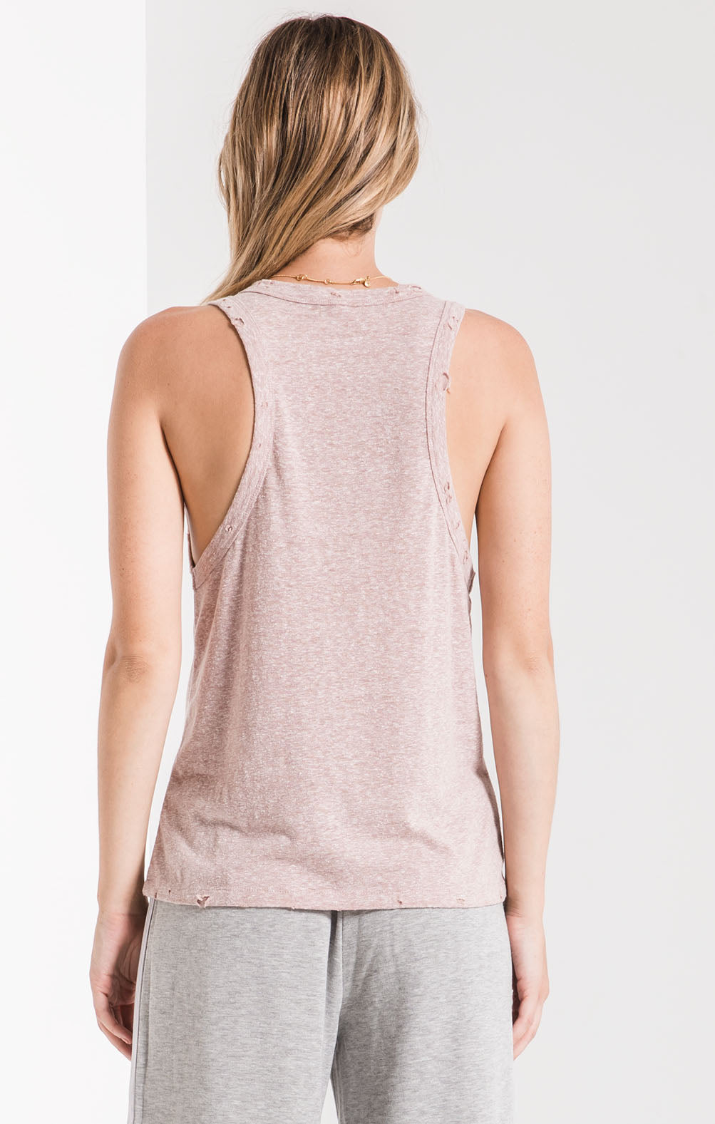 Tops The Triblend Racer Tank Deauville Mauve