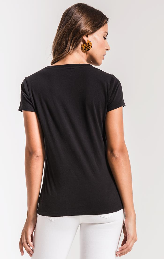 Tops Perfect Crew Tee Black