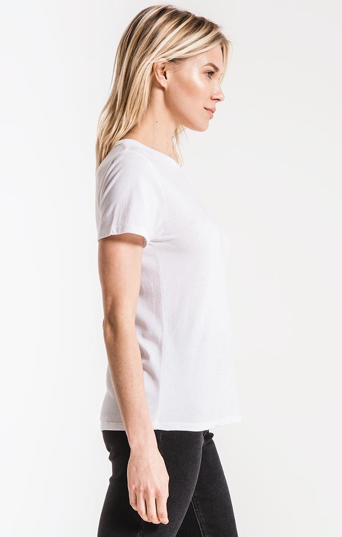 Tops The Perfect Crew Tee White