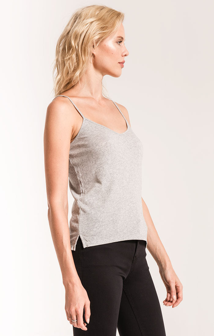 Tops Perfect Cami Top Heather Grey