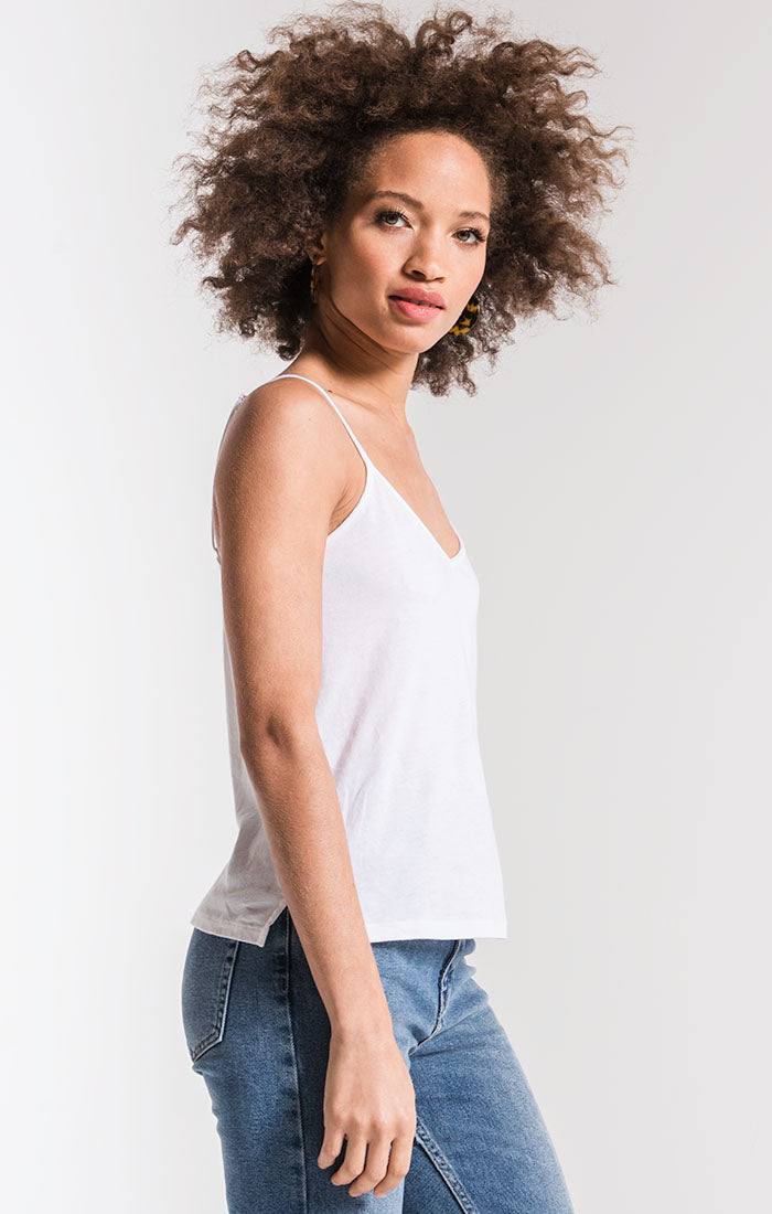 Tops Perfect Cami Top White