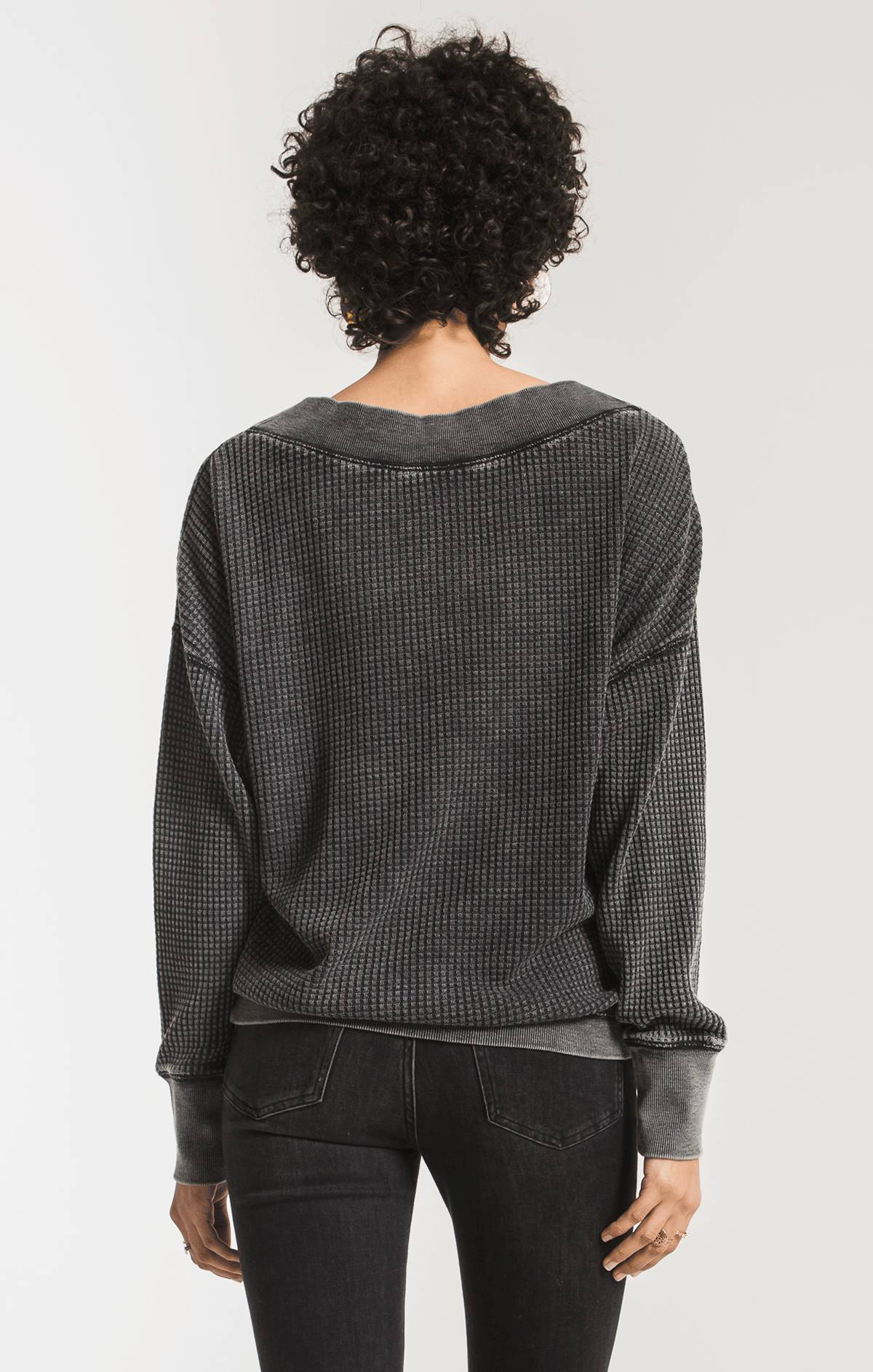 Tops The Emilia Thermal Top Black
