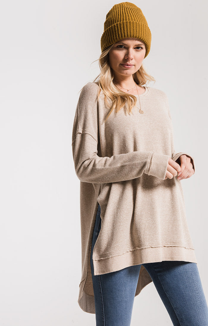 Tops The Triblend Weekender Simply Taupe