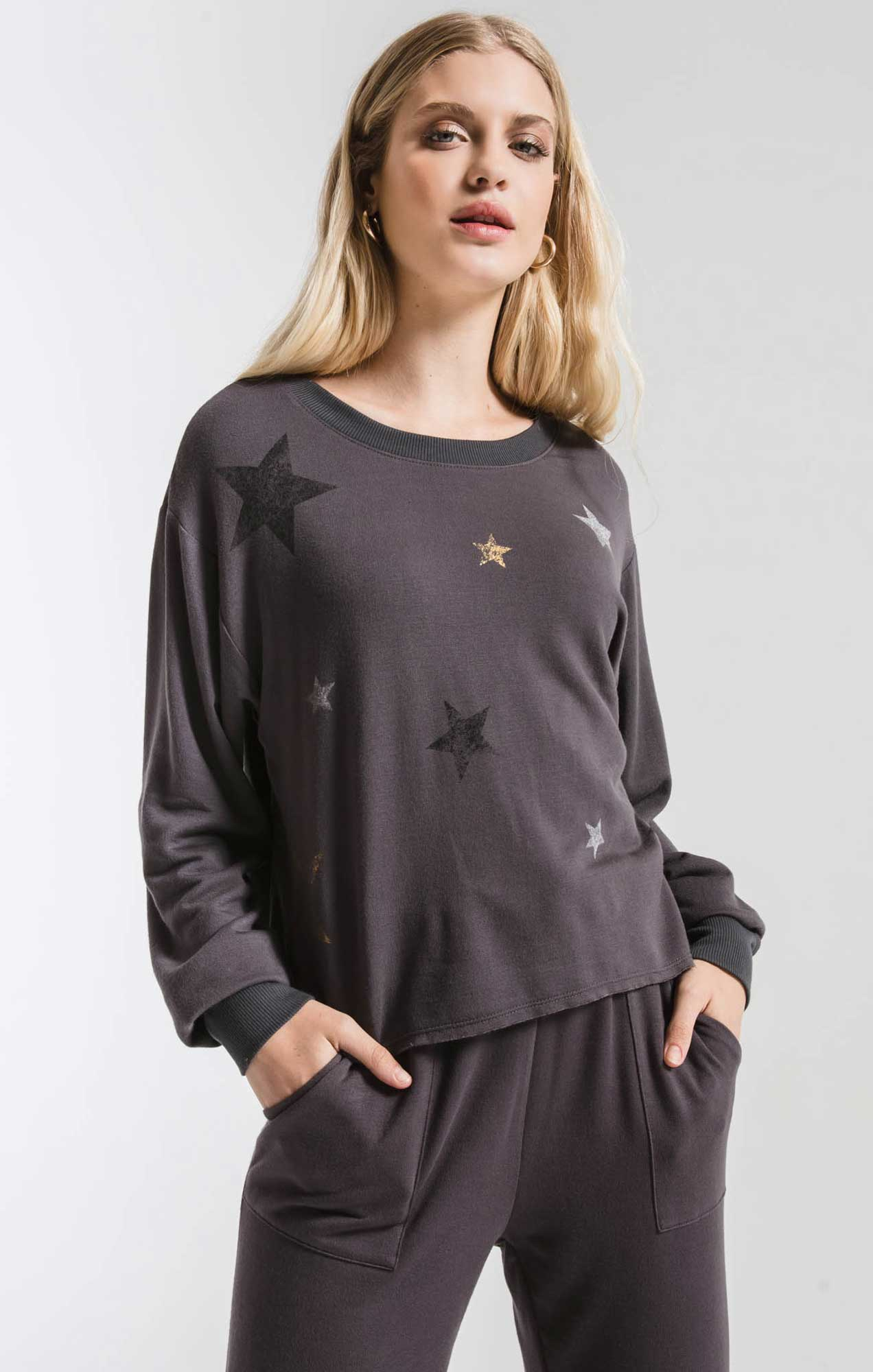 Tops The Foiled Star Pullover Magnet