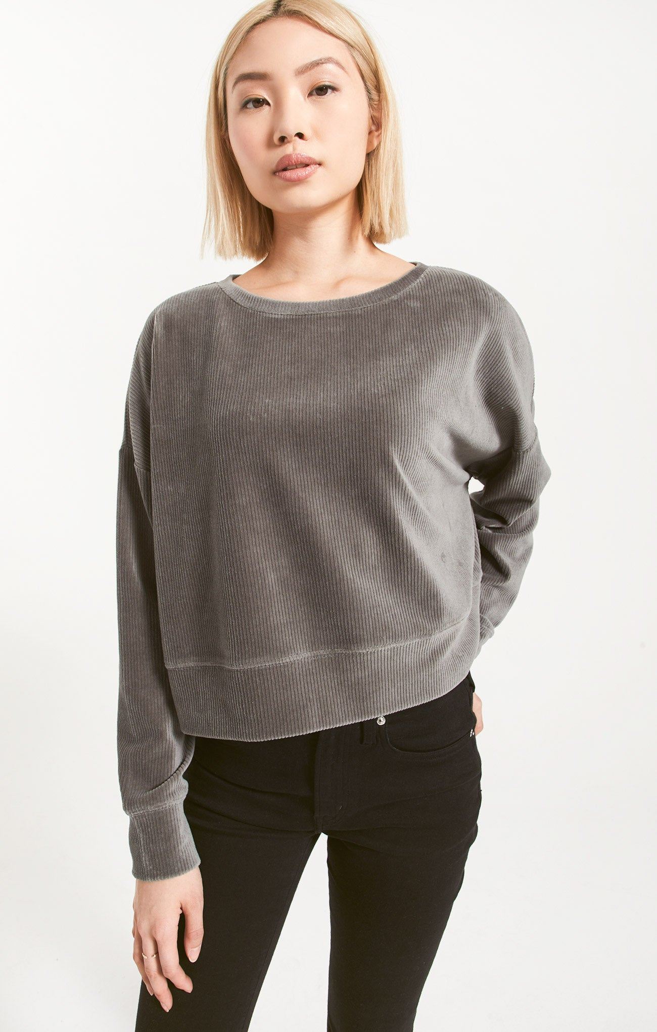 Tops Astrid Cord Pullover Astrid Cord Pullover