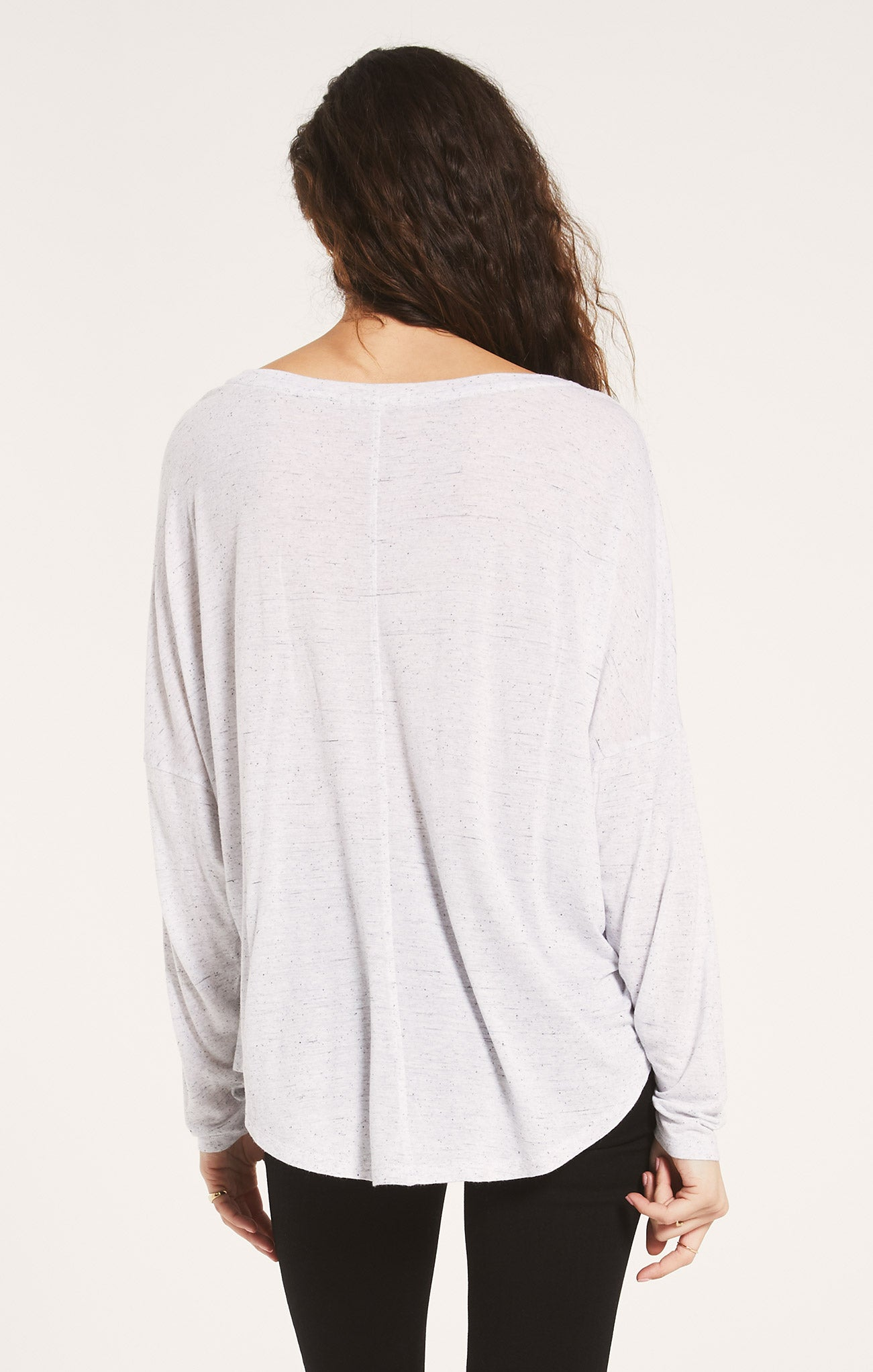 Tops Billie Speckle Tee White