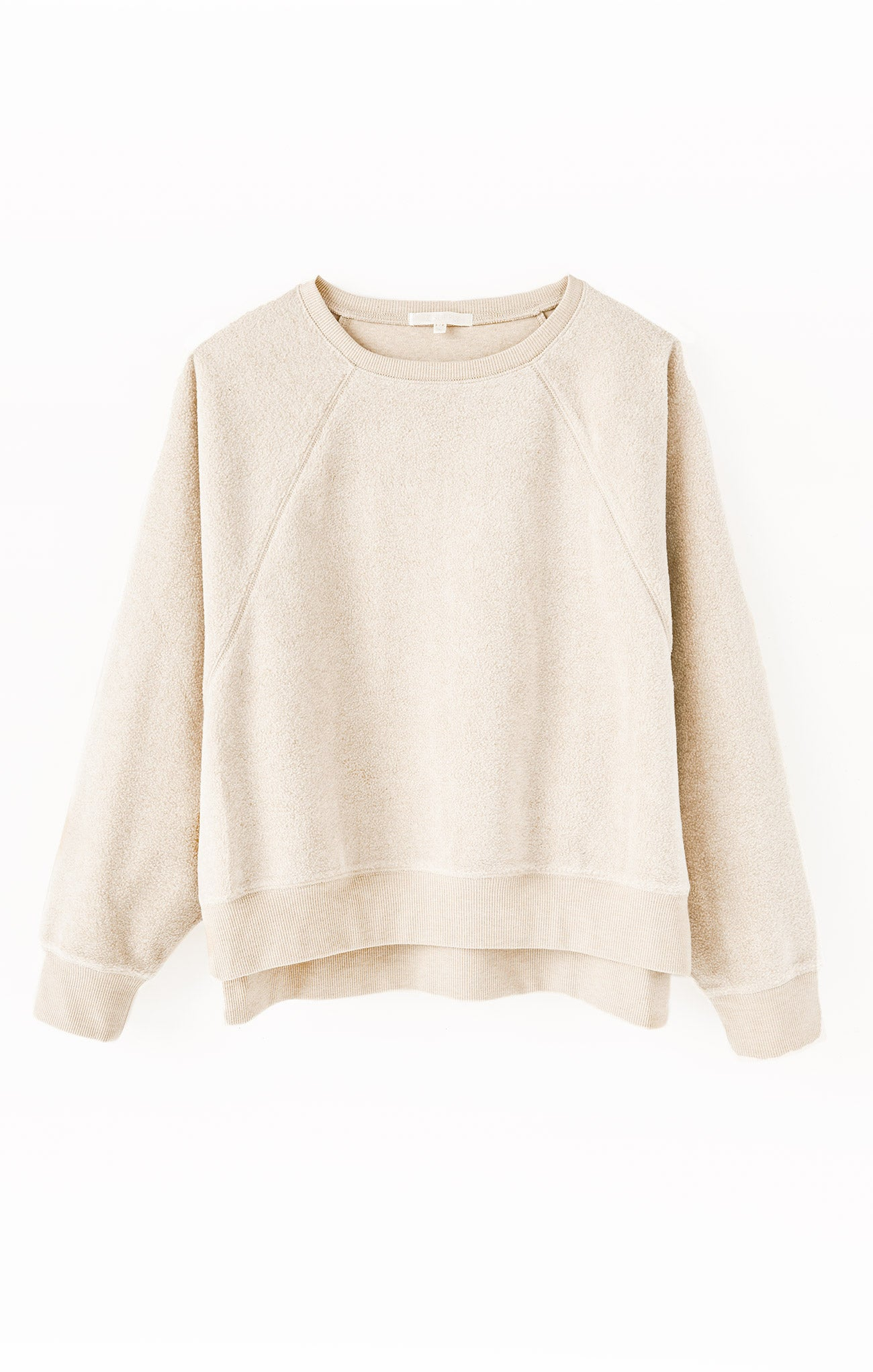 Tops Sleep Over Raglan Sweatshirt Birch