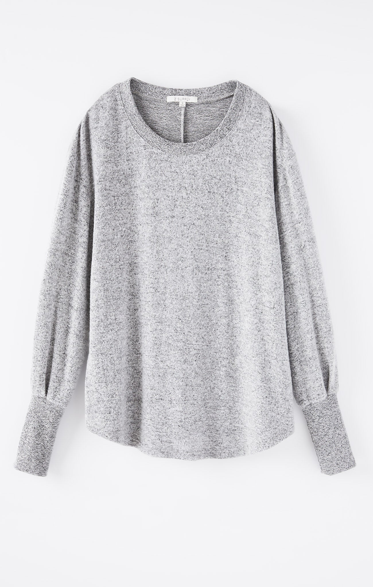 Tops Vada Marled Top Heather Grey