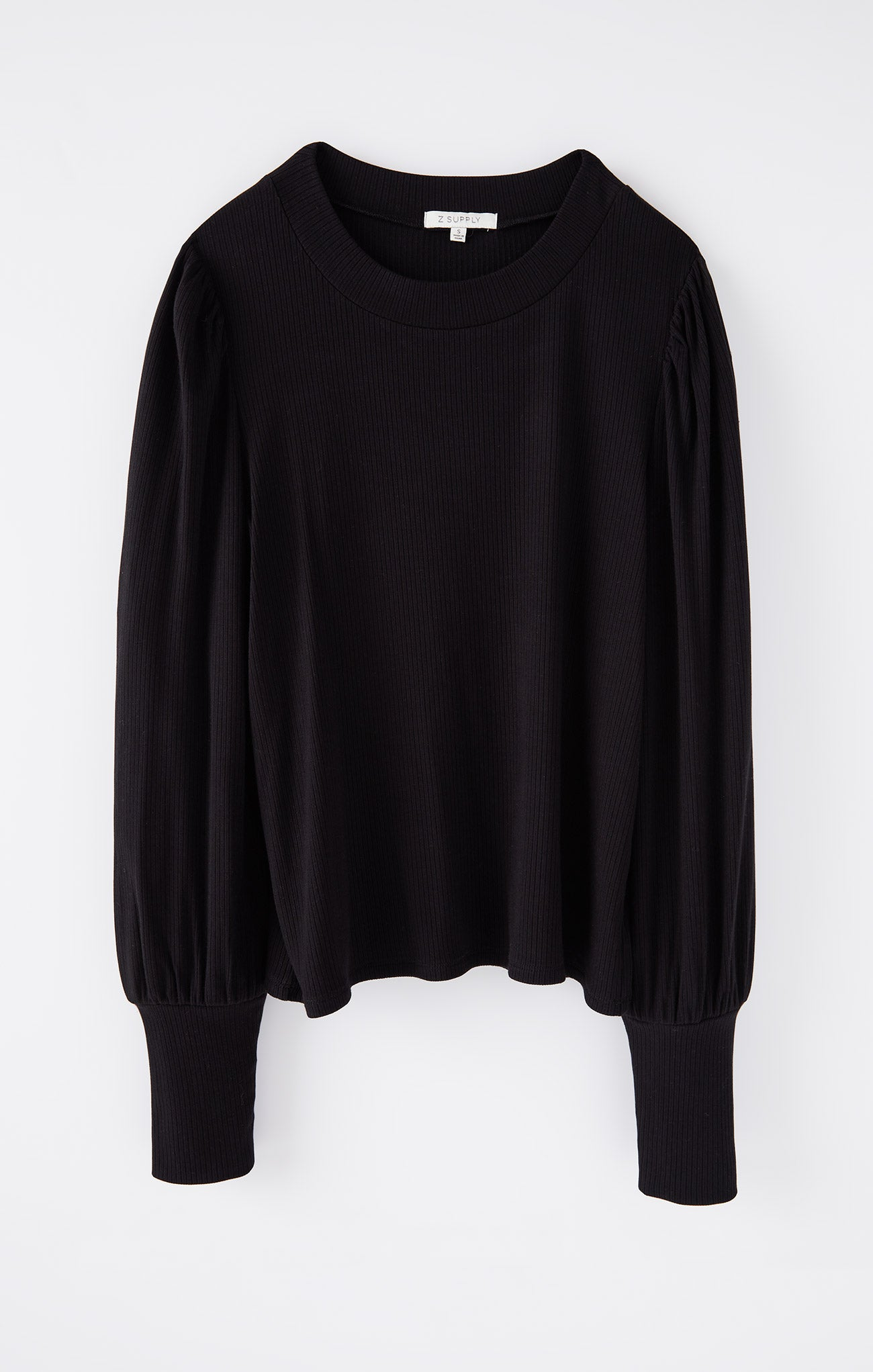 Tops Clemente Puff Sleeve Top Black