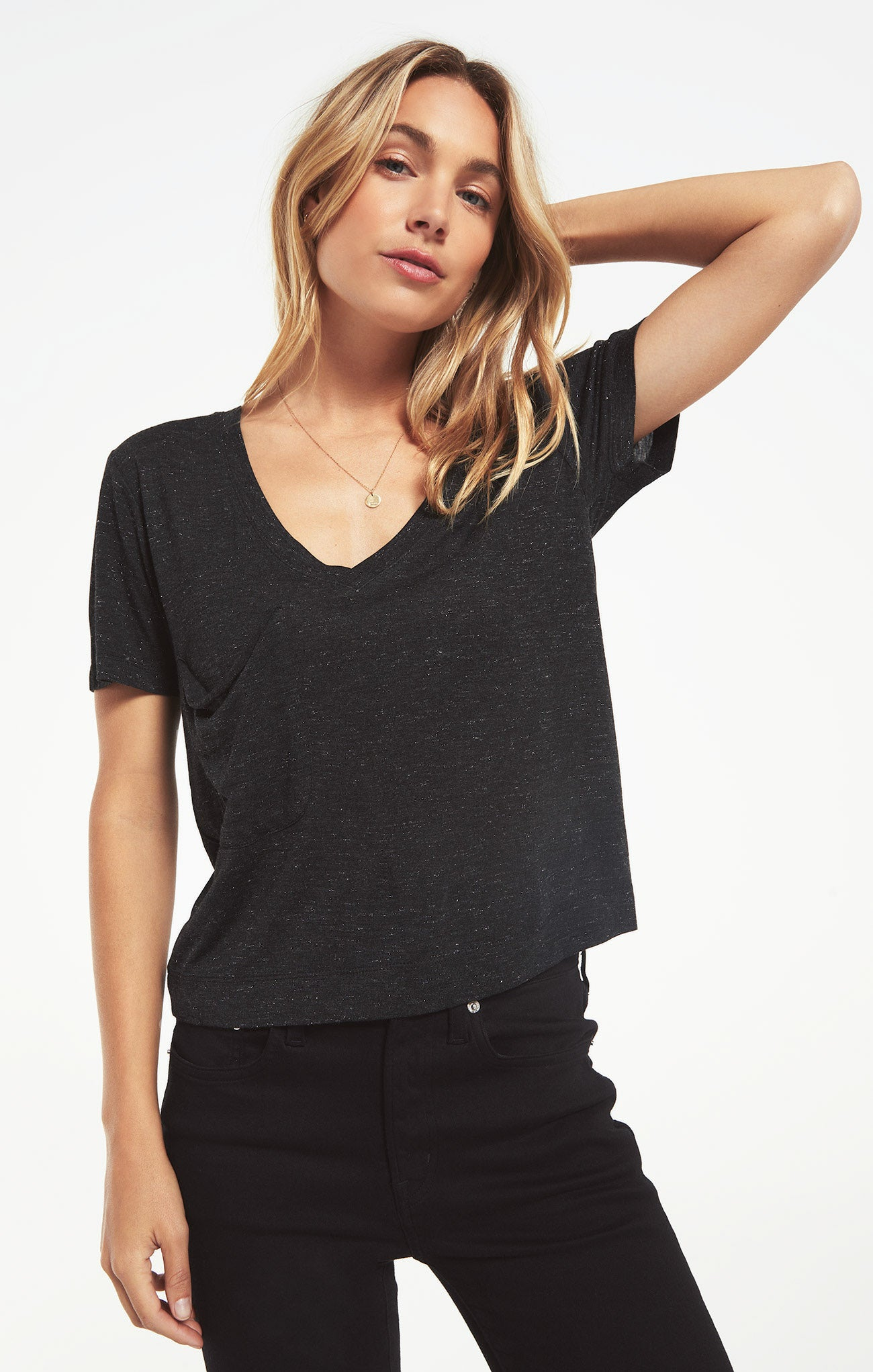 Tops Classic Skimmer Sparkle Tee Classic Skimmer Sparkle Tee