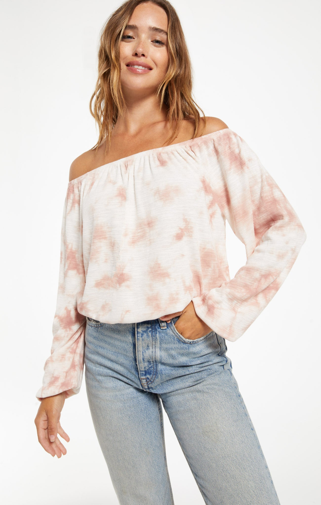 Tops Liv Cloud Tie-Dye Top Liv Cloud Tie-Dye Top