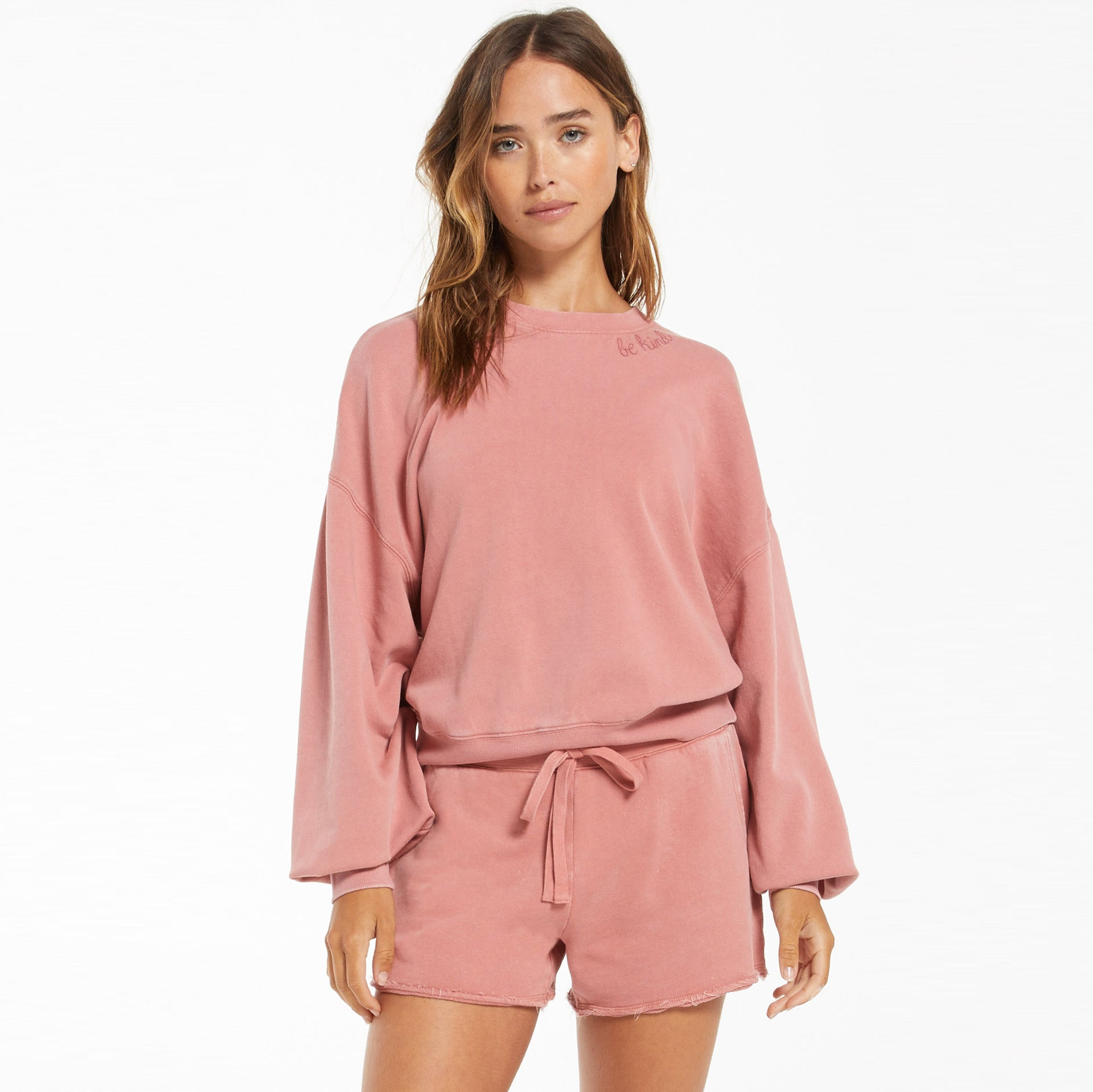 Tops Lia Washed Pullover Lia Washed Pullover