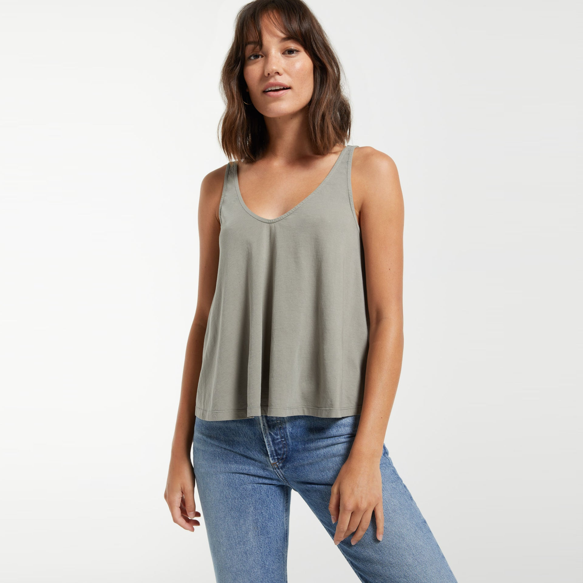 Tops Heather Organic Tank Heather Organic Tank
