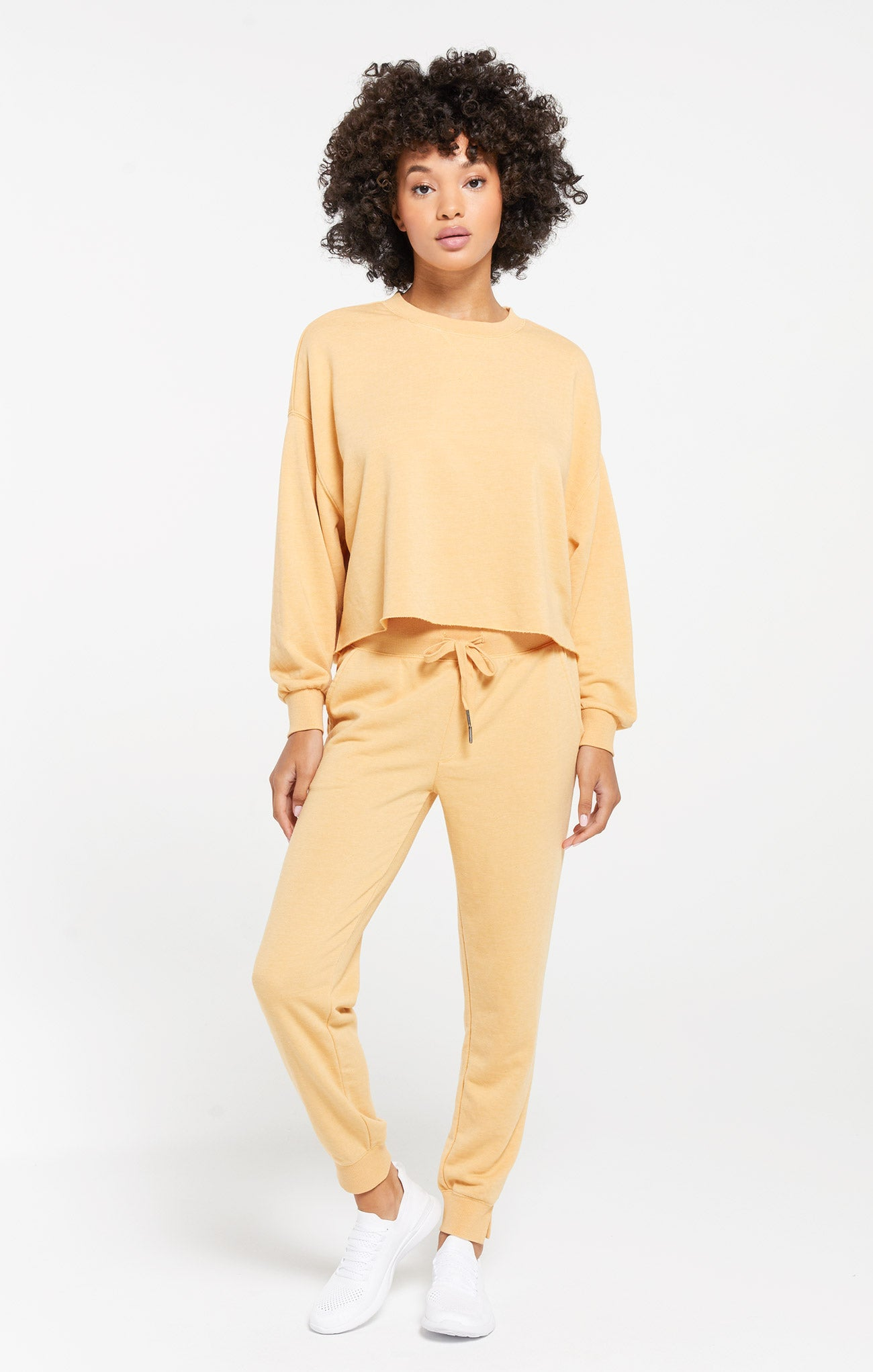 Tops Izzy Loop Terry Pullover Izzy Loop Terry Pullover