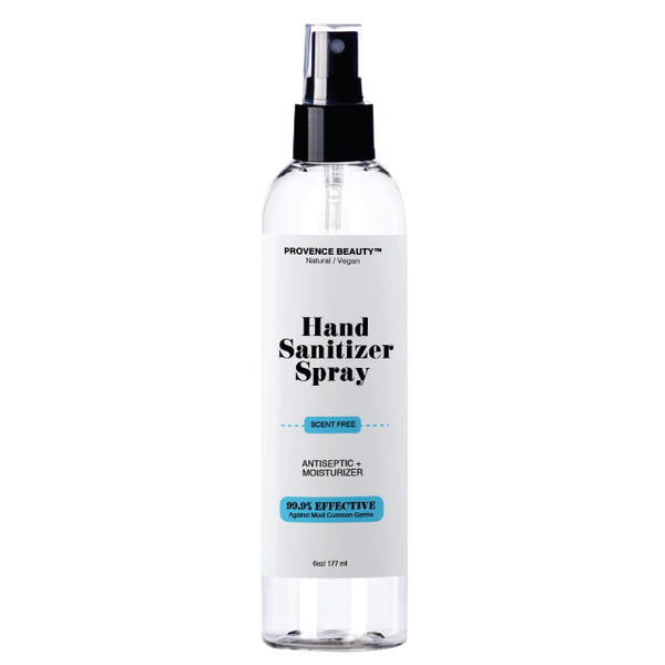 Hand Sanitizer Spray - Scent Free (6oz)-ba -Provence Beauty Skincare