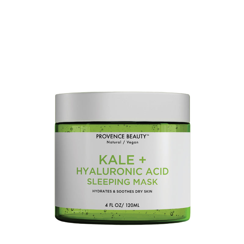 SLEEPING MASK | KALE + HYALURONIC ACID (4 OZ)- -Provence Beauty Skincare