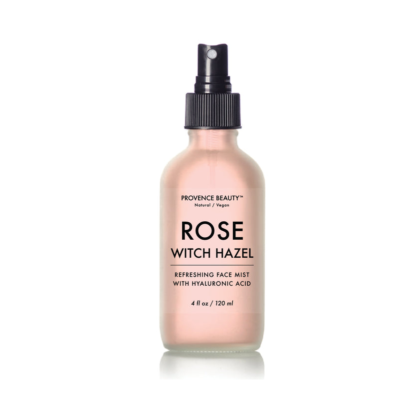 FACE MIST - ROSE WITCH HAZEL WATER (4 OZ)- -Provence Beauty Skincare