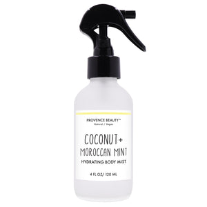 BODY MIST - COCONUT + MOROCCAN | HYDRATING-Body Mist -Provence Beauty Skincare