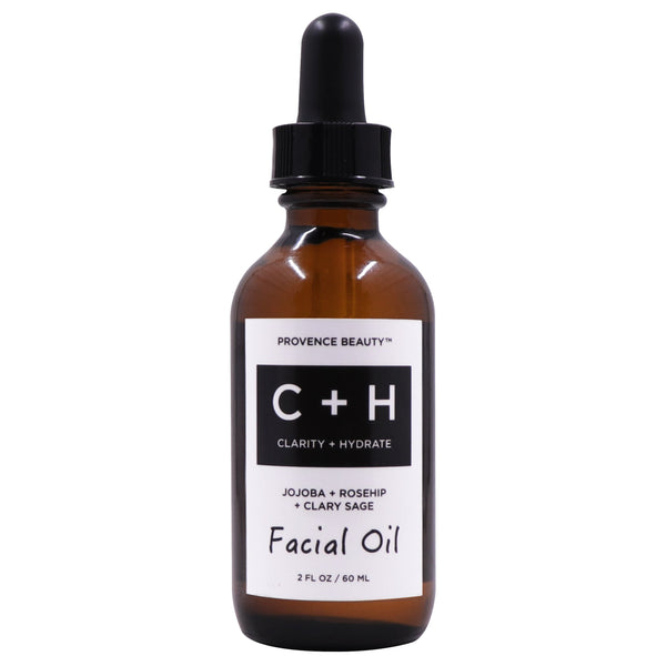 FACIAL OIL - CLARIFY + HYDRATE-Facial Oil -Provence Beauty Skincare