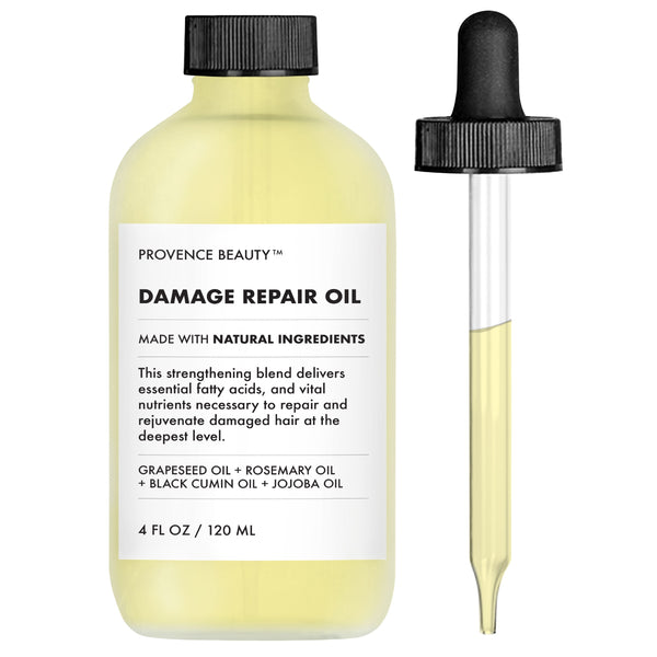 HAIR OIL - DAMAGE REPAIR OIL (4 OZ)-Hair Oil -Provence Beauty Skincare