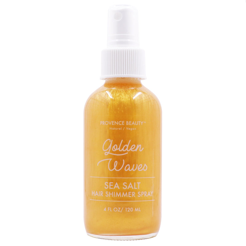 HAIR SHIMMER SPRAY - SEA SALT | GOLDEN WAVES-Hair Spray -Provence Beauty Skincare