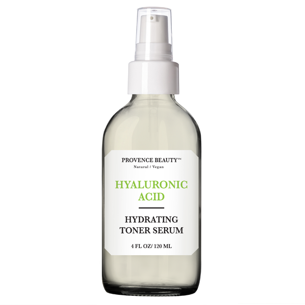 FACIAL TONER SERUM - HYDRATING HYALURONIC ACID 4OZ-Facial Toner Serum -Provence Beauty Skincare