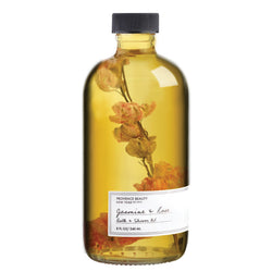 BATH + SHOWER OIL - JASMINE & ROSE (8 OZ)