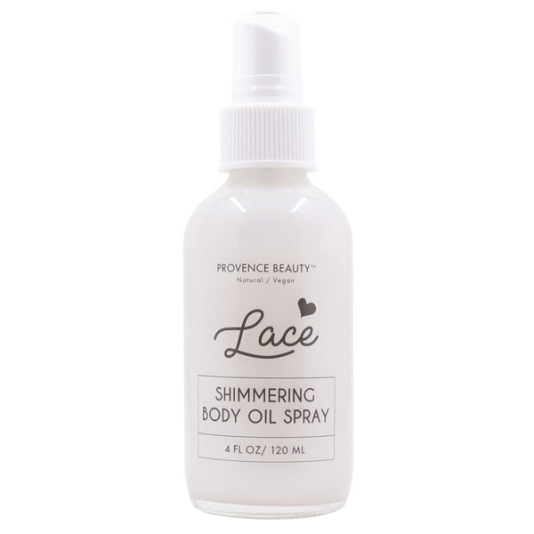 SHIMMERING BODY OIL - LACE-Body Skincare -Provence Beauty Skincare