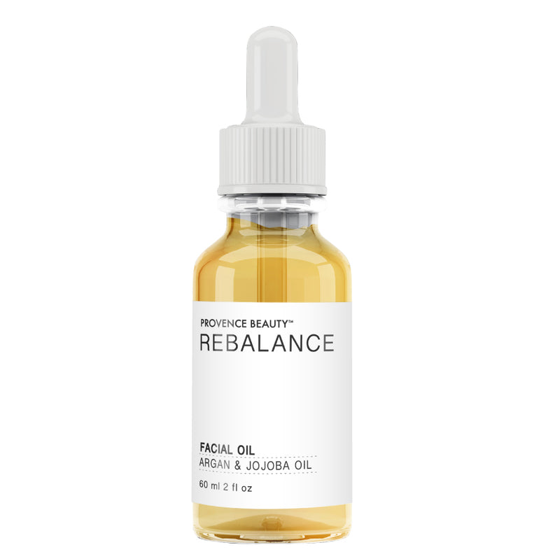 FACIAL OIL - ARGAN + JOJOBA | REBALANCE (2 OZ)