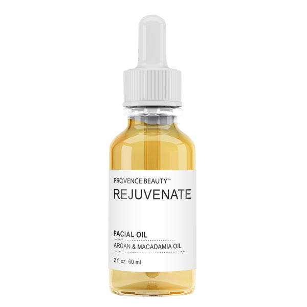 FACIAL OIL - ARGAN + MACADAMIA | REJUVENATE (2 OZ)