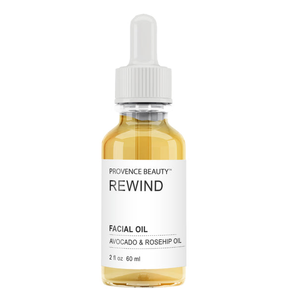 FACIAL OIL - AVOCADO + ROSEHIP | REWIND (2 OZ)