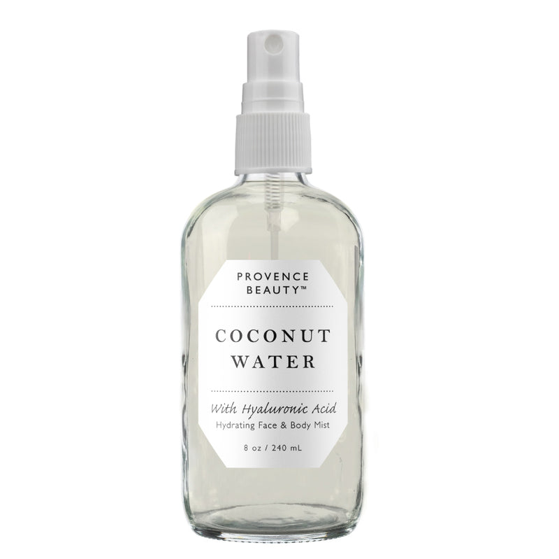 FACE & BODY MIST - COCONUT WATER WITH HYALURONIC ACID  | HYDRATING (8 OZ)