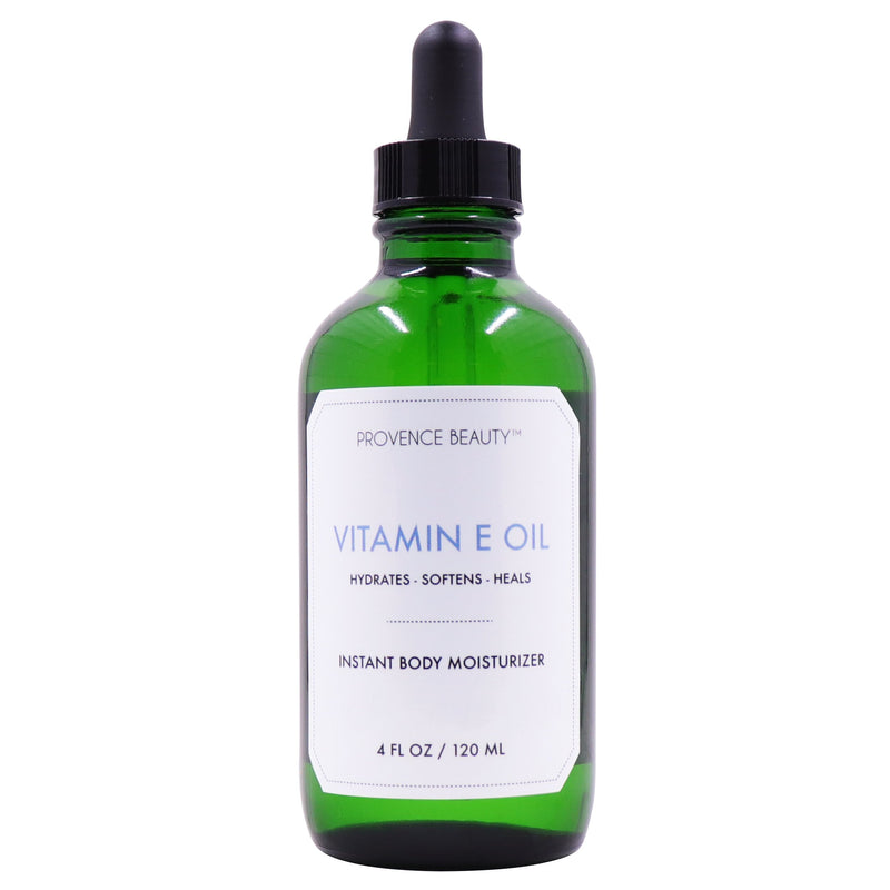 INSTANT BODY MOISTURIZER - VITAMIN E OIL-Body Oil -Provence Beauty Skincare