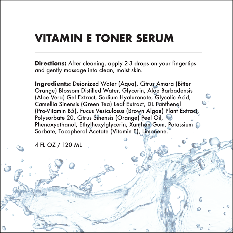 FACIAL TONER SERUM - VITAMIN E | REPAIRING-Facial Toner Serum -Provence Beauty Skincare