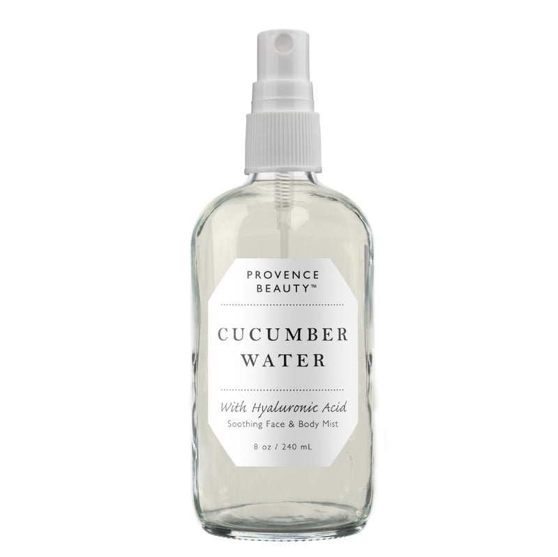 FACE & BODY MIST - CUCUMBER WATER WITH HYALURONIC ACID | SOOTHING (8 OZ)