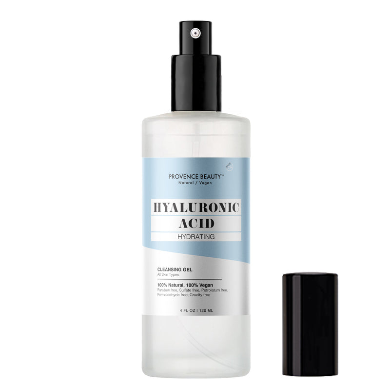 CLEANSING GEL - HYALURONIC ACID | HYDRATING (4 OZ)