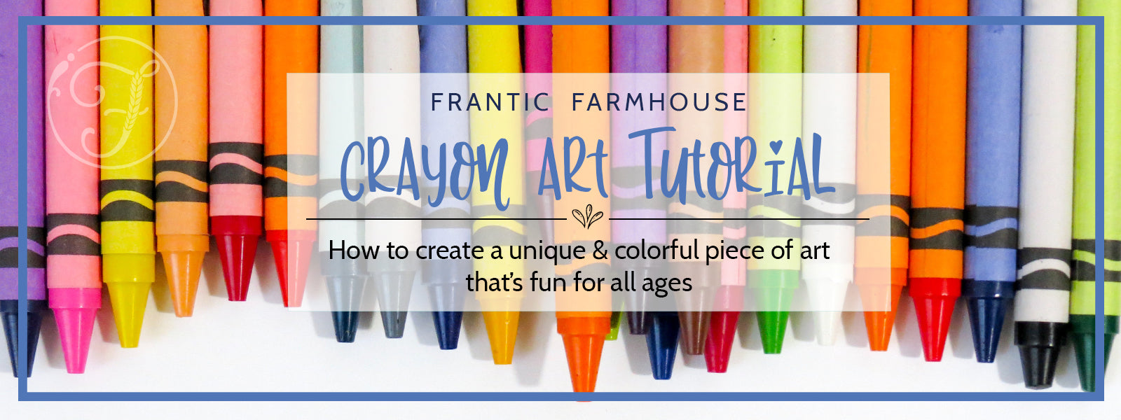 Crayon Art Tutorial