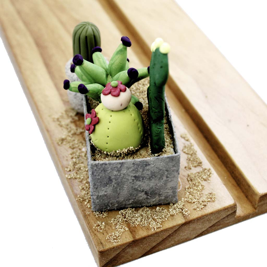 Cactus Makes Perfect Embellishment Base