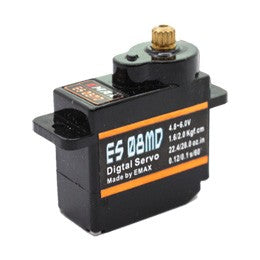 EMAX ES08MD (8g) Digital Metal Gear Servo