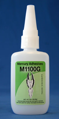 Mercury Adhesives M1100G Gap Filling CA (2 oz.)