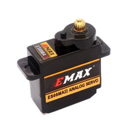 EMAX ES08MA II (12g) Analog Metal Gear Servo - Altitude Hobbies