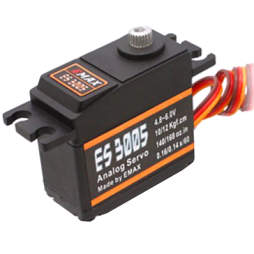 EMAX ES3005 (42g) WATERPROOF Analog Metal Gear Servo - Altitude Hobbies